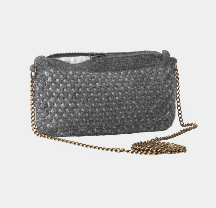 Aiayu - Helen Chain Clutch - Mix Stormy/Air