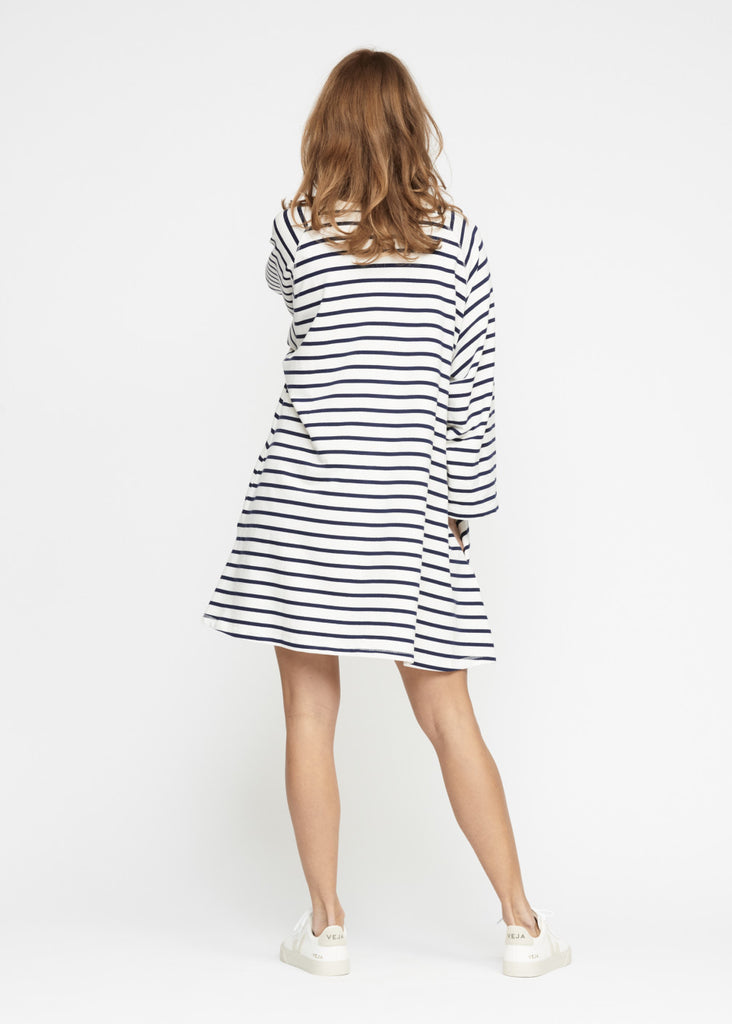 Moshi Moshi Mind - Fall Sweatdress Stripe
