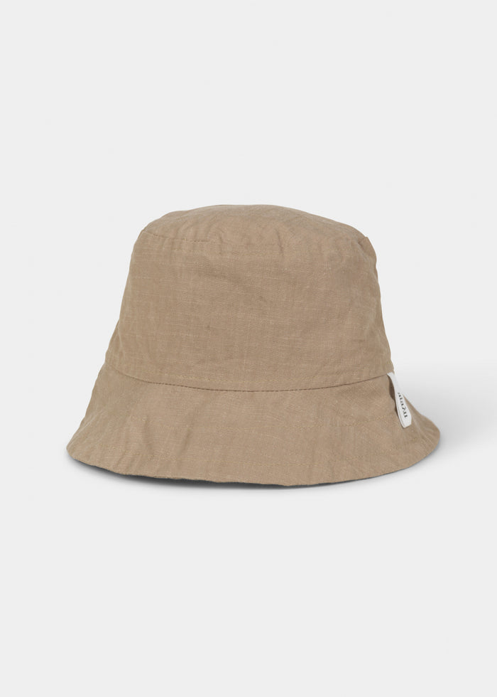 Aiayu - Nina Hat Cotton Slub - Light Tabacco