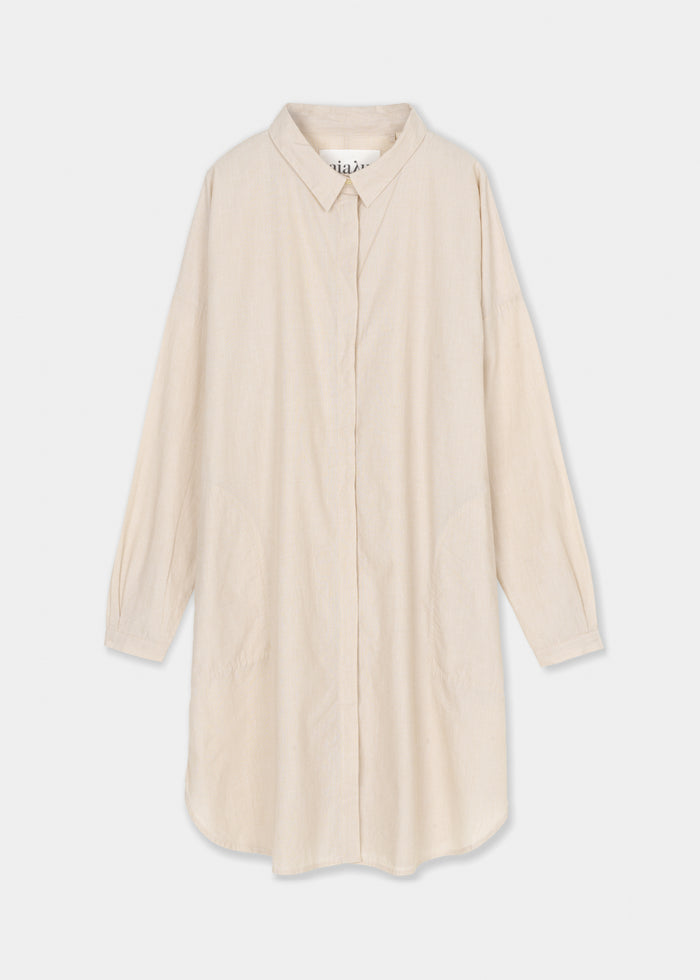 Aiayu - Shirt Dress - Baguette