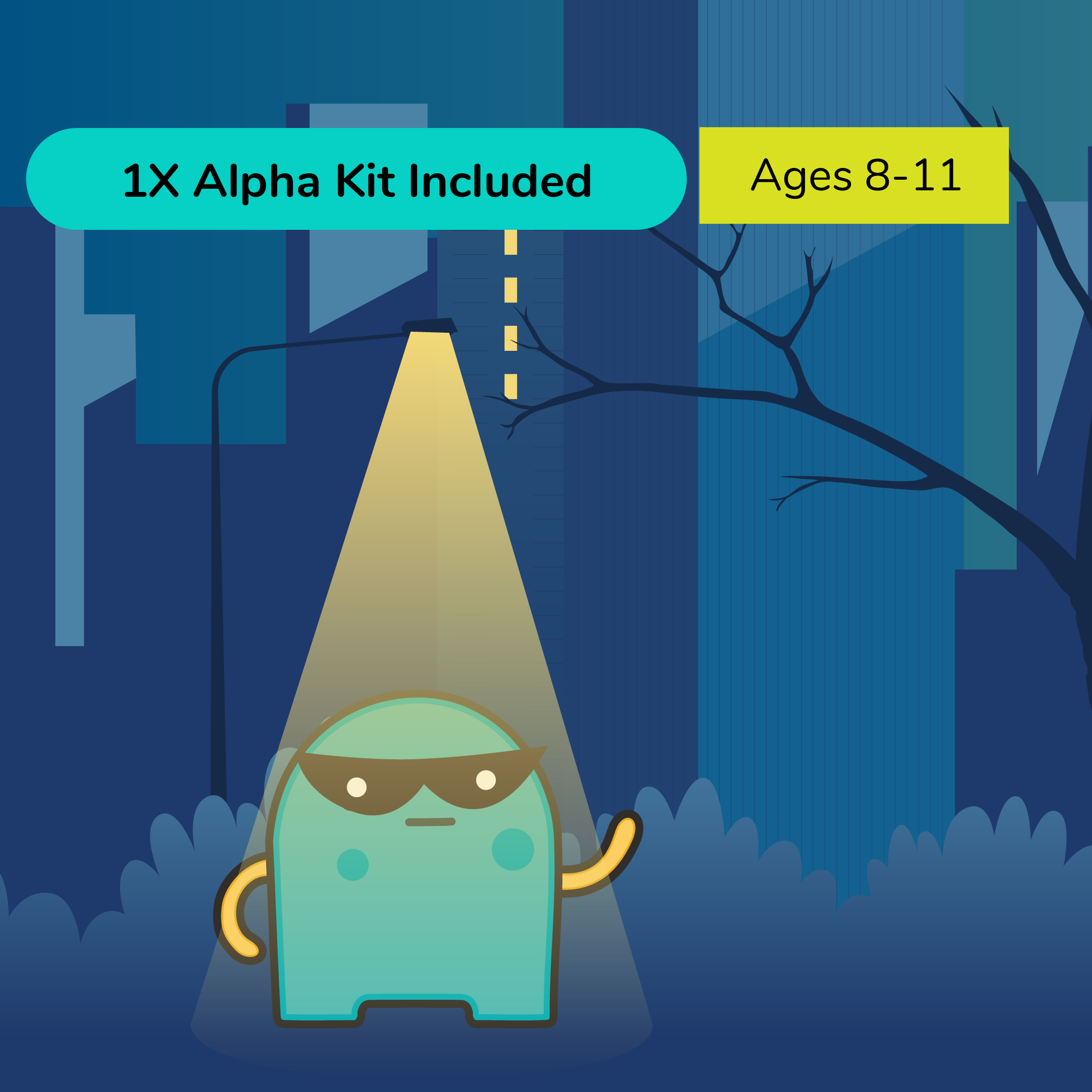 Virtual Summer Camp Blocky Bandits Grades 3-5 (Intermediate) with STEAM Alpha Kit