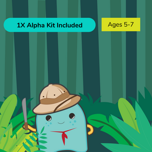 Virtual Summer Camp SAM Scouts Grades K-2 (Beginner) with STEAM Alpha Kit