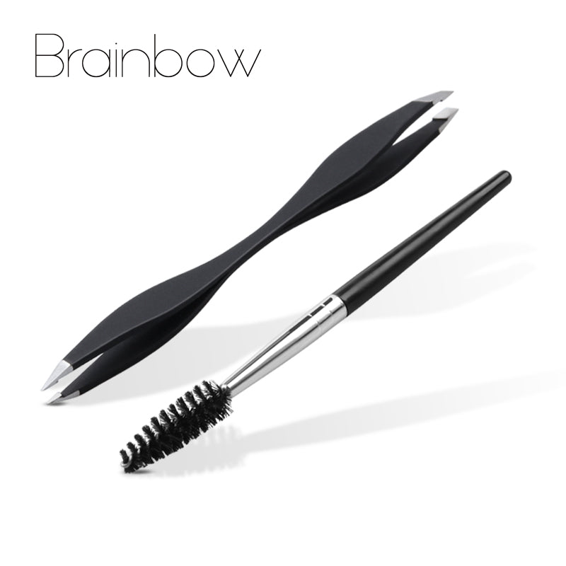 Brainbow 2pcs/Pack Eyes Makeup Tools Set