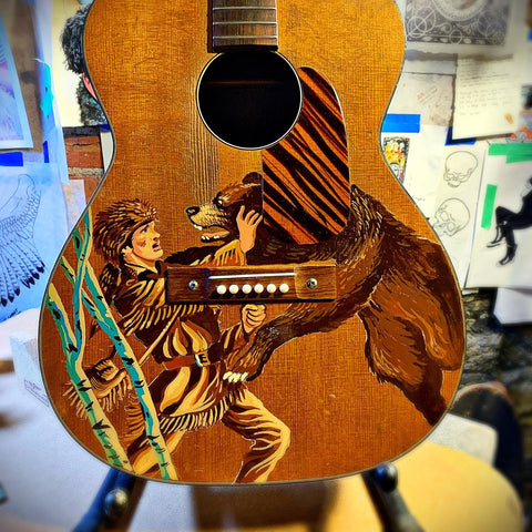 Customized Art For Guitars & Cases, James Willis Artist
