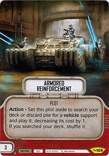 Armored Reinforcement (Across The Galaxy, Uncommon, 129) Card Single