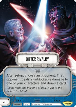 Bitter Rivalry (Across The Galaxy, Uncommon, 115) Card Single