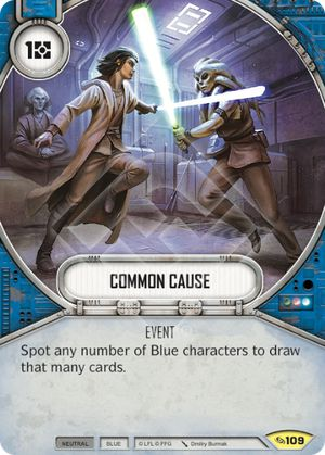 Common Cause (Across The Galaxy, Uncommon, 109) Card Single