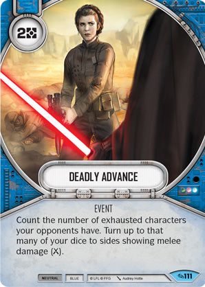 Deadly Advance (Across The Galaxy, Common, 111) Card Single