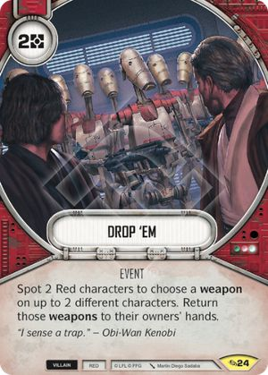 Drop 'Em (Across The Galaxy, Uncommon, 24) Card Single