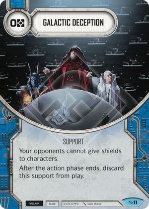 Galactic Deception (Across The Galaxy, Common, 11) Card Single