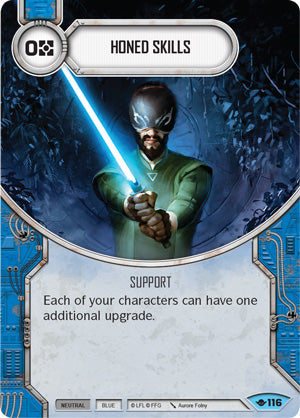 Honed Skills (Way Of The Force, Common, 116) Card Single