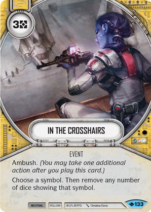 In The Crosshairs (Way Of The Force, Common, 133) Card Single