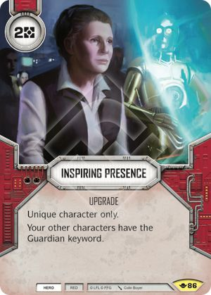 Inspiring Presence (Way Of The Force, Uncommon, 86) Card Single