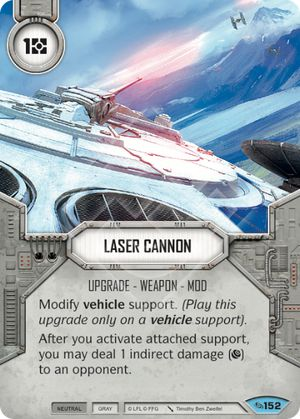 Laser Cannon (Across The Galaxy, Common, 152) Card Single