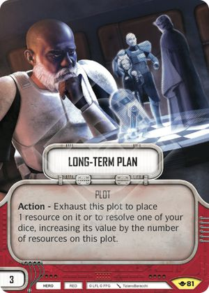 Long-Term Plan (Way Of The Force, Uncommon, 81) Card Single