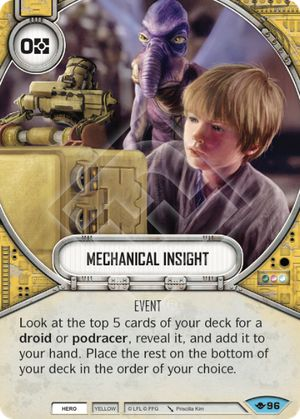 Mechanical Insight (Way Of The Force, Common, 96) Card Single