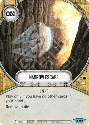 Narrow Escape (Way Of The Force, Common, 97) Card Single