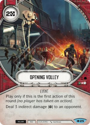 Opening Volley (Way Of The Force, Common, 25) Card Single