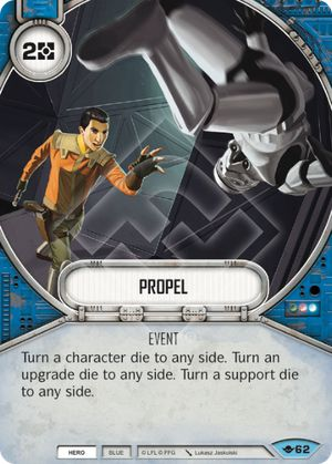 Propel (Way Of The Force, Common, 62) Card Single