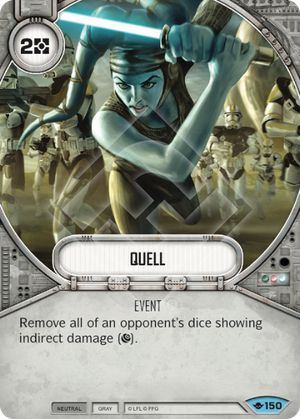 Quell (Way Of The Force, Common, 150) Card Single