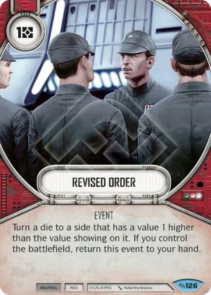 Revised Order (Across The Galaxy, Common, 126) Card Single