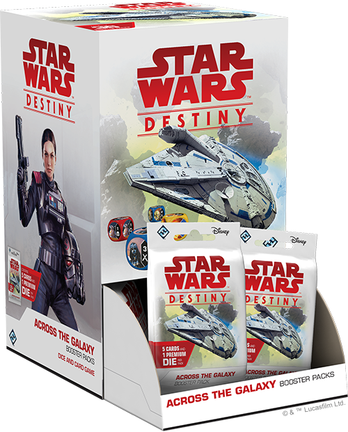 Star Wars: Destiny - Across the Galaxy Booster Box (36 packs)