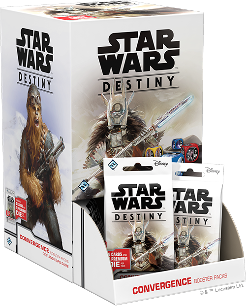 Star Wars: Destiny - Convergence Booster Box (36 packs)