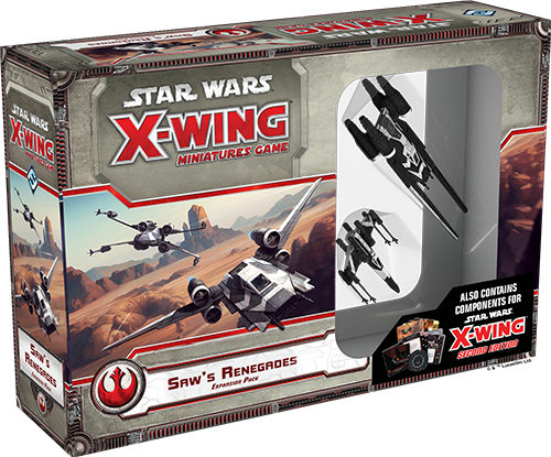 Star Wars: X-Wing Saw's Renegades Expansion Pack