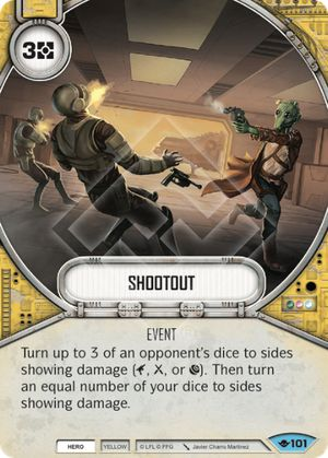 Shootout (Way Of The Force, Common, 101) Card Single