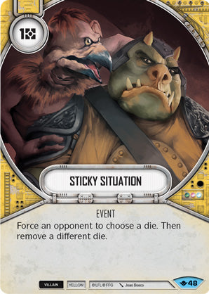 Sticky Situation (Way Of The Force, Common, 48) Card Single