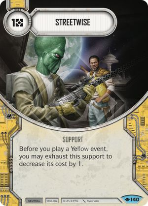 Streetwise (Way Of The Force, Common, 140) Card Single