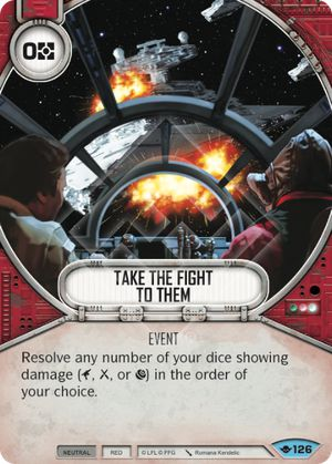 Take The Fight To Them (Way Of The Force, Common, 126) Card Single