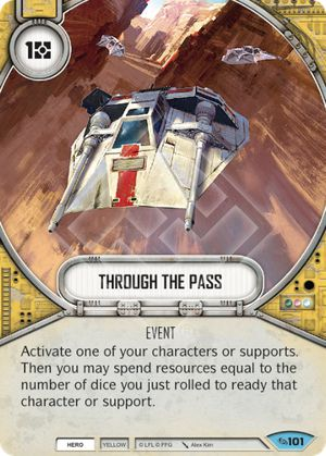 Through The Pass (Across The Galaxy, Common, 101) Card Single