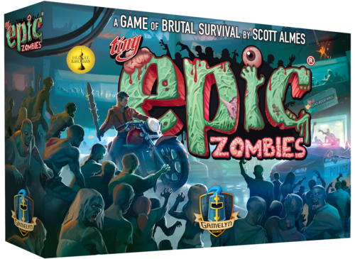 Tiny Epic Zombies: Deluxe Edition with Extra Content!