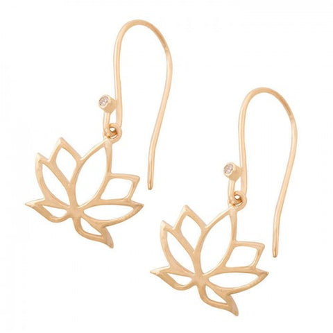 Earrings Sparkling Lotus