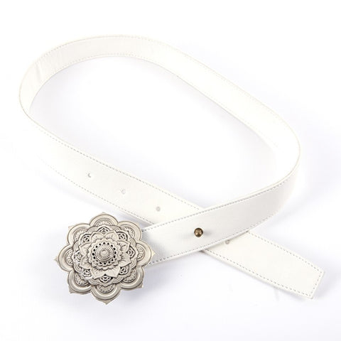 Belt Fougère White