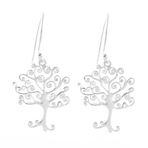 Earrings Simplicity Tree of life