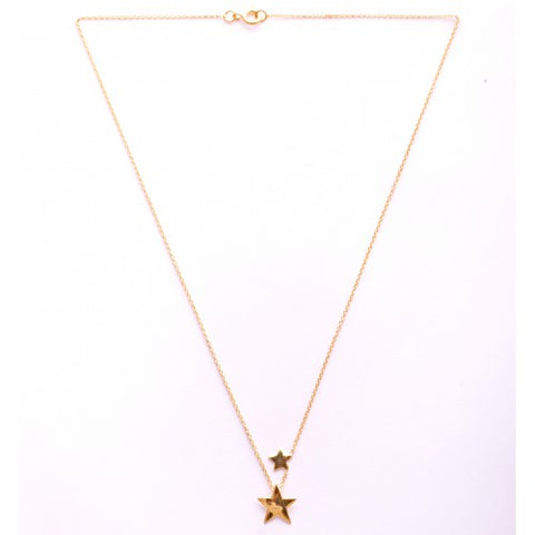 Necklace Satellite Gold plated