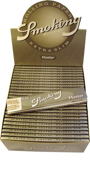 Paper Smoking Silber Box 0