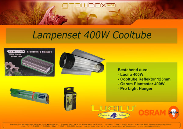 Lampenset 400W Cooltube 0