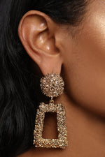 GOLD DROP EARRINGS