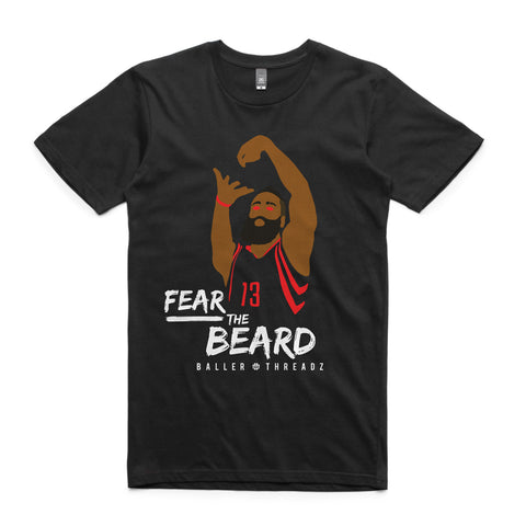 Fear The Beard T-Shirt Black