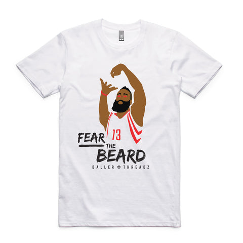 Fear The Beard T-Shirt White
