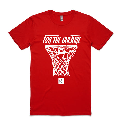 For The Culture - Red Tee