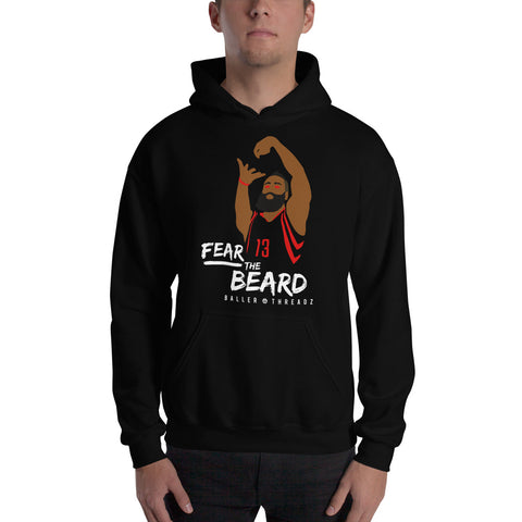 FEAR THE BEARD Hoodie - Black