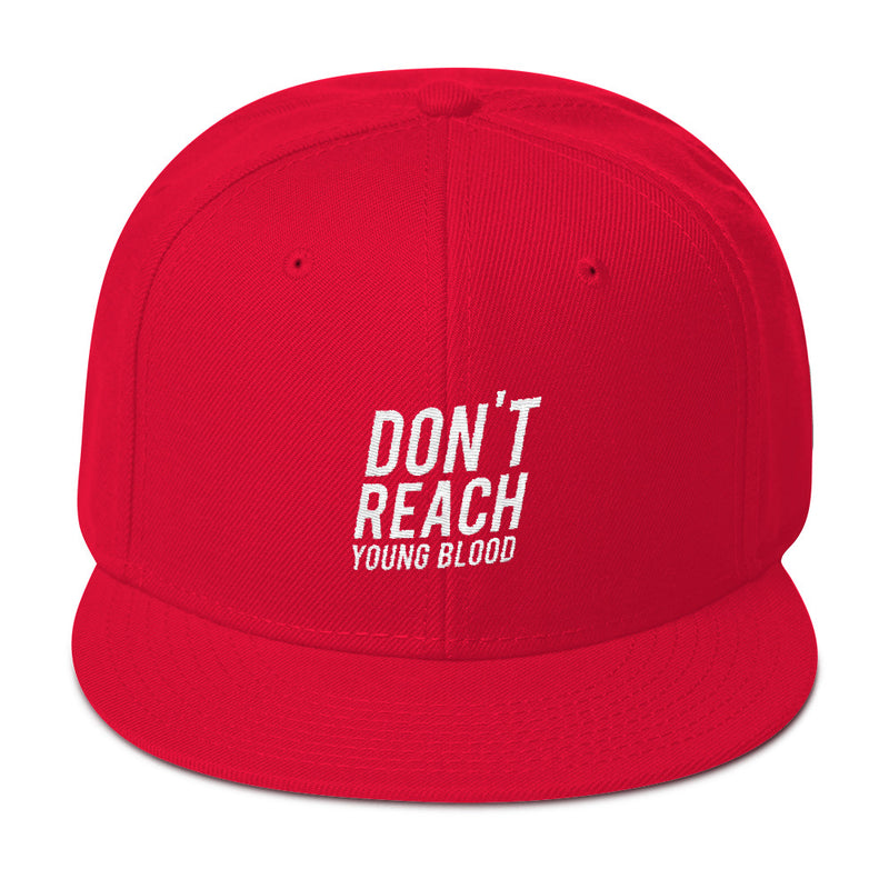 DON'T REACH Snapback - Red