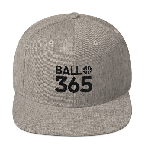 BALL 365 Snapback - Heather Grey/Silver