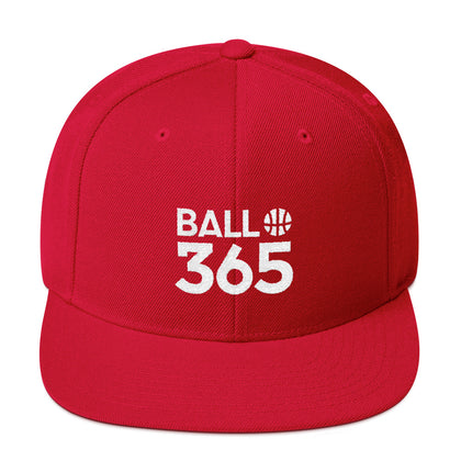 BALL 365 Snapback - Red