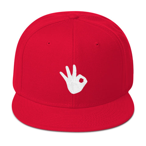 SPLASH! Snapback - Red