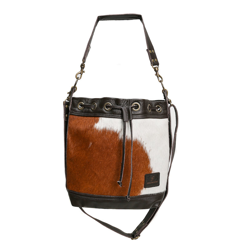 Cowhide Bucket Bag by Zulucow - Hound & Hare